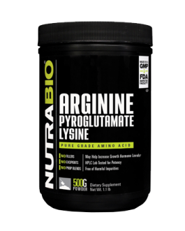 Nutrabio Arginine Pyroglutamate Lysine