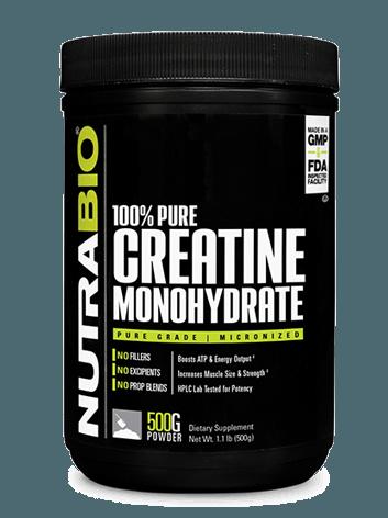 Buy NUTRABIO Creatine Monohydrate NOW