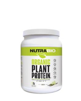 NutraBio Organic Plant Protein