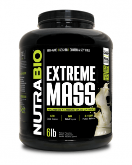 NutraBio Extreme Mass