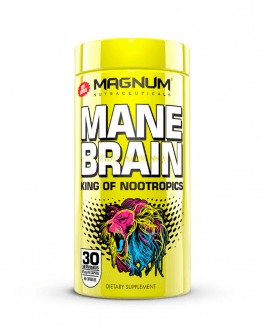 Magnum Nutraceuticals Mane Brain [60 Caps]