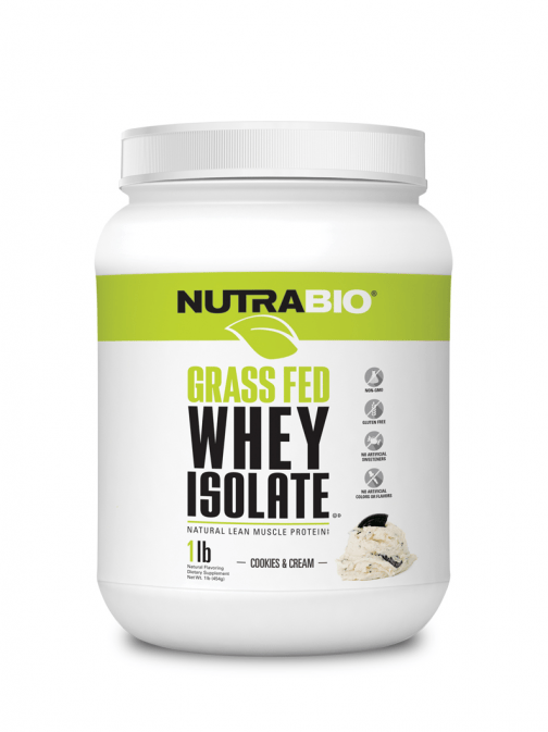 NutraBio - GrassFed Cookies and Cream