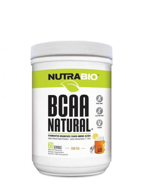 NutraBio BCAA Natural Sun Tea