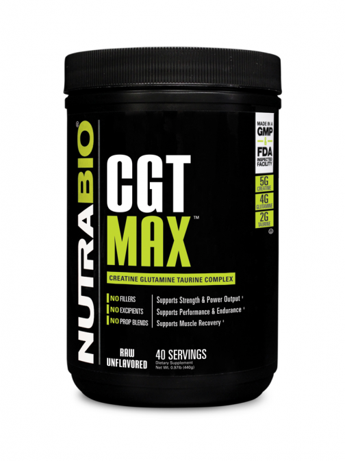 NutraBio - CGT MAX Unflavoured