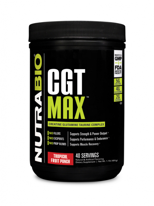NutraBio - CGT MAX Tropical Fruit Punch