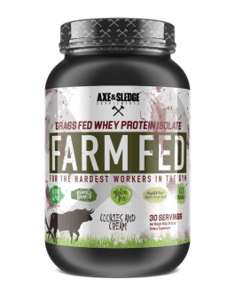 Axe and Sledge – Farm Fed Protein