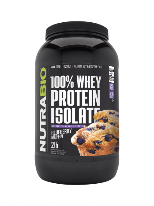 NutraBio - Isolate Blueberry Muffin
