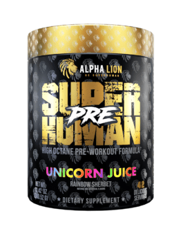 Alpha Lion – SuperHuman Pre