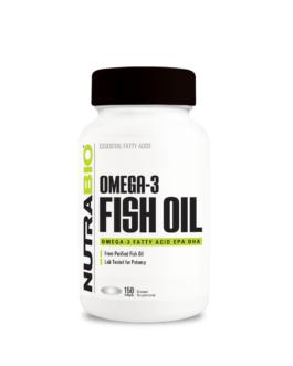 NutraBio – Omega 3 Fish Oil